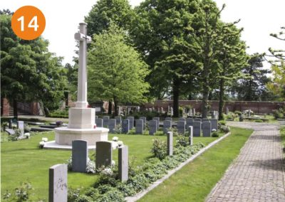 Oorlogsgraven Algemene begraafplaats
